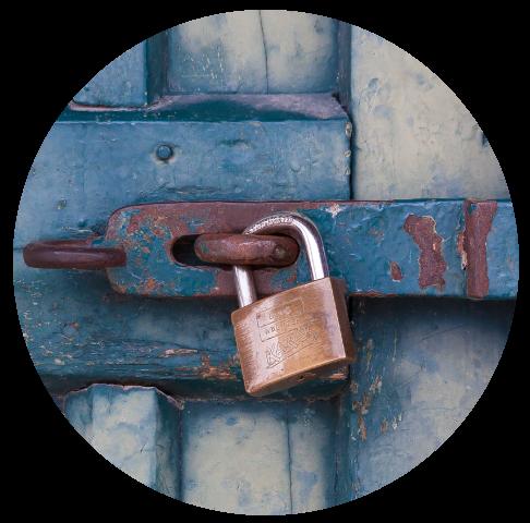 Secure-lock-circle